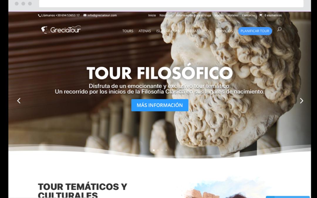 GreciaTour Website