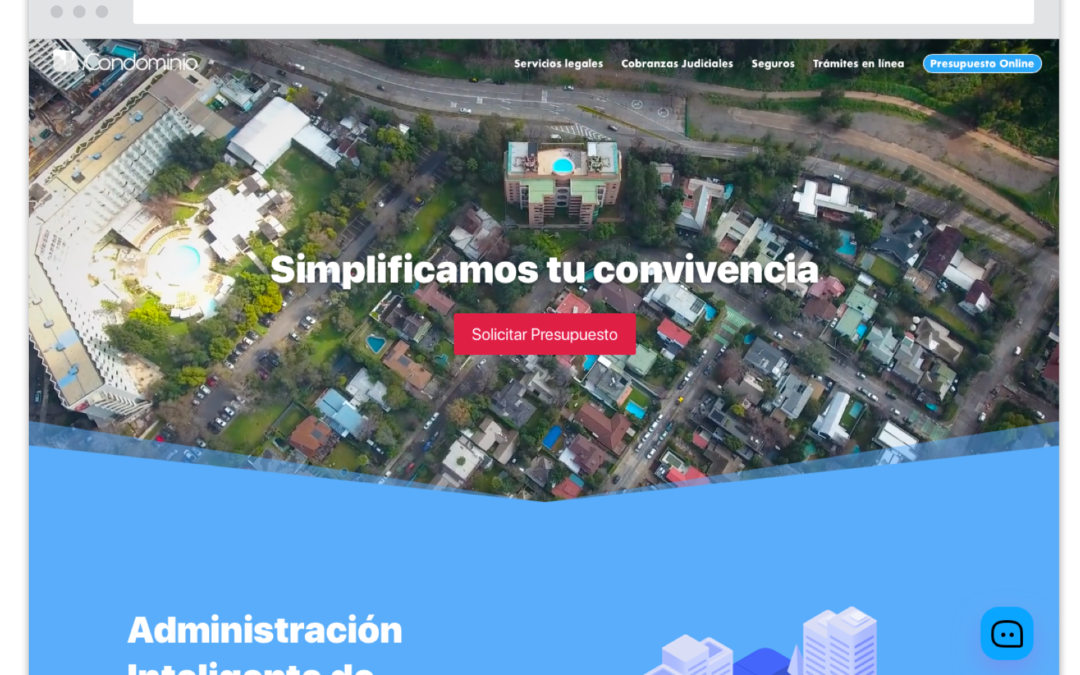 iCondominio S.A. Website